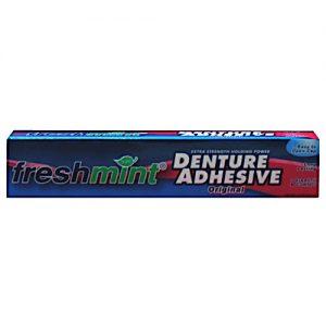 2.4 oz Freshmint Denture Adhesive (72/pack)