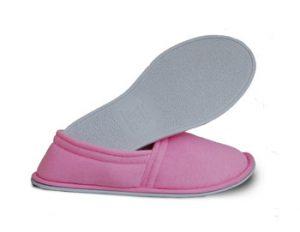 Women's Terry Cloth Pink Slipper