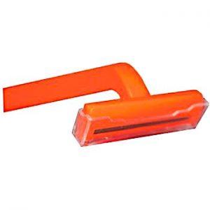 Single Blade Razor (orange handle) by Freshscent (1000/pack)