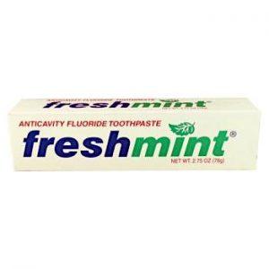 2.75 oz. Freshmint Fluoride-Free Toothpaste (individual box) 6 Tubes
