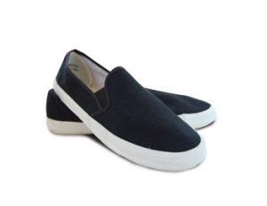 Men's Canvas Slip-On Deck Shoe