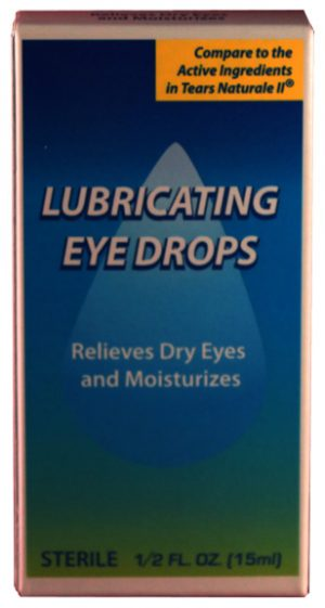 .5oz Natural Tears Eye Drops