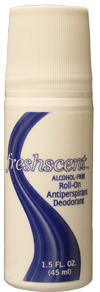Roll-On Deodorant (Alcohol Free) 1.5 oz. $0.46 ea (96/cs)