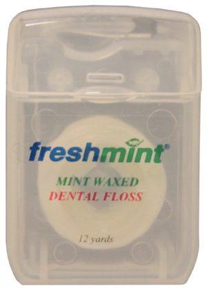 Mint Waxed Dental Floss 12 Yards (24/pack)