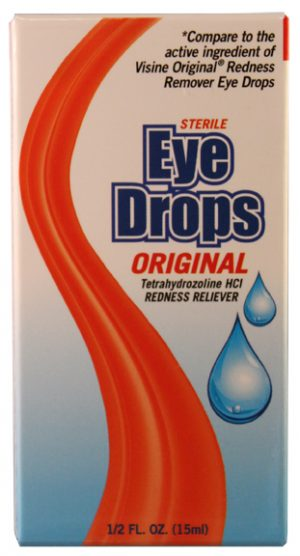 .5oz Redness Remover Eye Drops (NBE Visine Original) $1.70 Each (48sc)