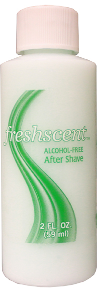 2 oz. After Shave (clear bottle) alcohol free (96/pack)