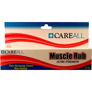 3oz Muscle Rub (10% Menthol, 15% Methyl Salicylate)