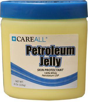 Tub of Petroleum Jelly 8 oz. $1.50 ea (48/cs)