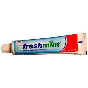 3.0 oz ADA Approved Freshmint Premium Anticavity Toothpaste (72/cs)
