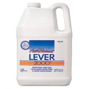 LEVER 2000 Antibacterial Liquid Soap, 1 Gal (4/cs)