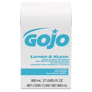 GOJO Lather & Klean Body & Hair Shampoo (12/cs)