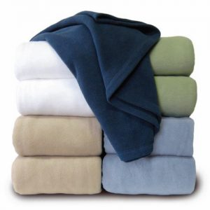 Flame-Resistant Polyester Blankets