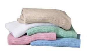 Thermal Blankets White and Colors