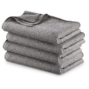 52% Wool Loom Woven Blankets