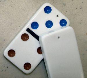 Plastic Dominos