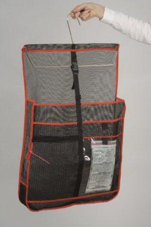 16″ Burgundy Basic Backpack