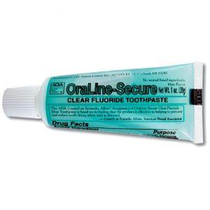 OraLine-Secure Toothpaste, 1 oz (144/cs)