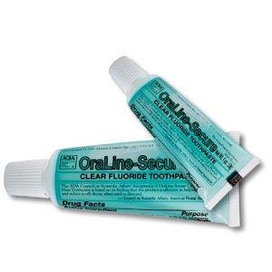 OraLine-Secure Toothpaste, 3 oz (72/cs)