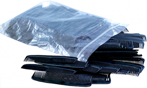 5″ Black Comb (144 pieces)