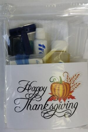 New! Thanksgiving Holiday Deluxe Hygiene Kit (FREE SHIPPING)