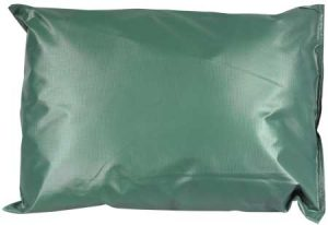 Poly Core/Vinyl Cover Pillow, Green