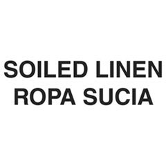 Bilingual Label – Soil Linen; 7iHx10iW