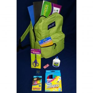 Basic Elementary Kit with 16″ Standard Backpack (40kits/cs)
