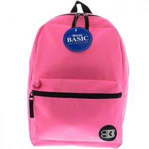 16″ Fuchsia Basic Backpack