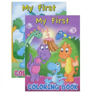 MY FIRST Coloring & Activity Book (48/pack)