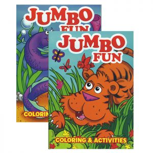 JUMBO Fun Coloring & Activity Book (48/pack)