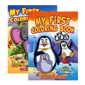 JUMBO MY FIRST Coloring Book (48/pack)