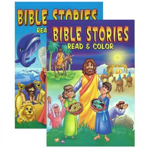 BIBLE STORIES Coloring Book (48/Pack)