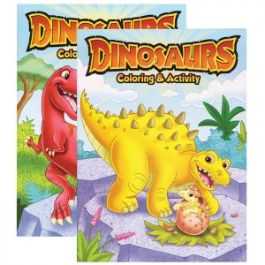 DINOSAURS Coloring & Activity Book (48/Pack)