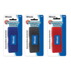 Ergonomic Magnetic Whiteboard Eraser (24/pack)