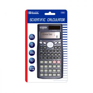 240 Function Scientific Calculator w/ Slide-On Case (12/pack)