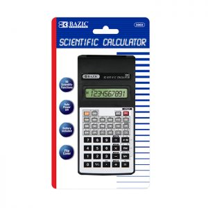 56 Function Scientific Calculator w/ Flip Cover