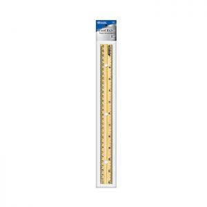 12″ (30cm) Wooden Ruler (24/pack)