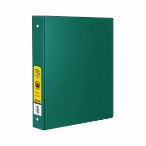 1″ Green 3-Ring Binder w/ 2-Pockets $1.50 ea (12/Cs)