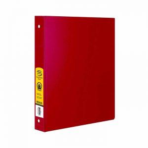1″ Red 3-Ring Binder w/ 2-Pockets $1.50 ea (12/Cs)