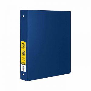 1″ Blue 3-Ring Binder w/ 2-Pockets $1.50 ea (12/Cs)