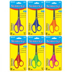 5″ Blunt Tip School Scissors (24/pack)