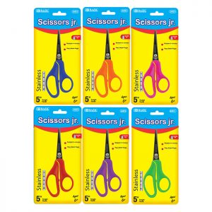 5″ Pointed Tip School Scissors (24/Cs)