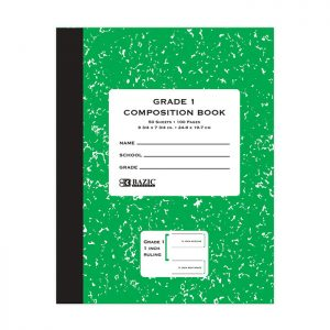 Grade 1 Primary Composition Book 50 Ct (24/pack)