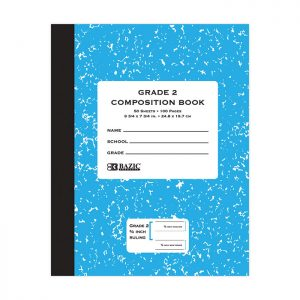 Grade 2 Primary Composition Book 50 ct (24/pack)