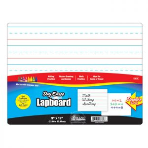 9″ X 12″ Double Sided Dry Erase Lap Board