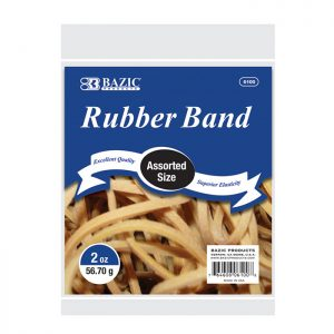 Assorted Sizes Rubber Bands 2 oz./ 56.70 g