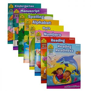 SCHOOL ZONE Assorted Workbooks (48/pack)