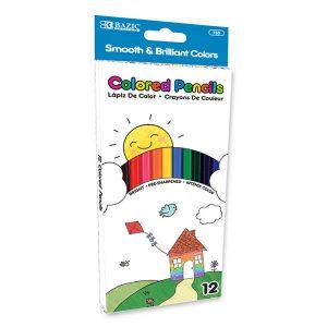 12 Color Pencil (24/pack)