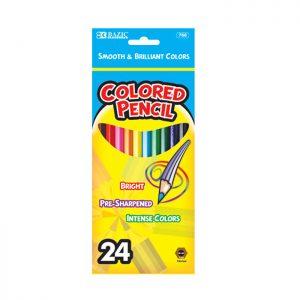 24 Color Pencil (12/Cs)