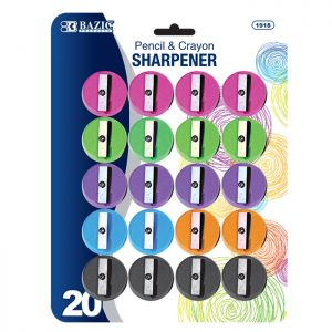 Round Pencil Sharpener (20/Pack)